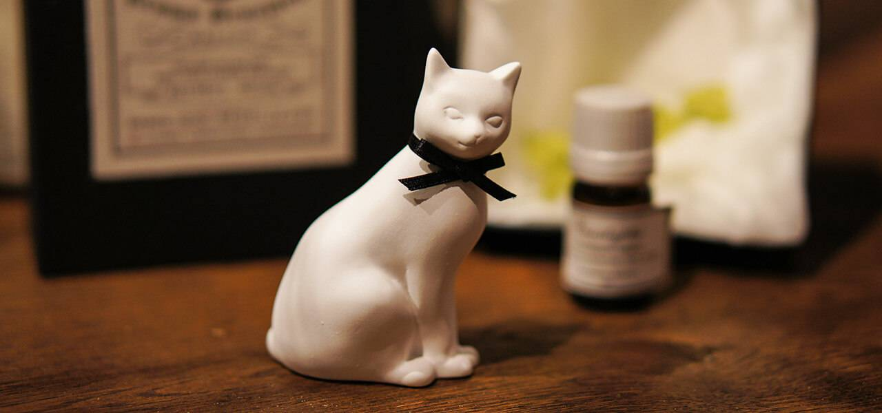 アロマオーナメント「Cat 猫」