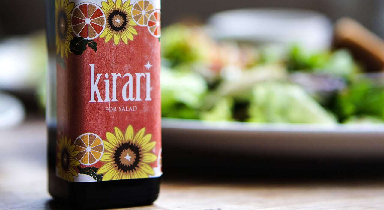 さわやかフレーバーオイル「Kirari」
